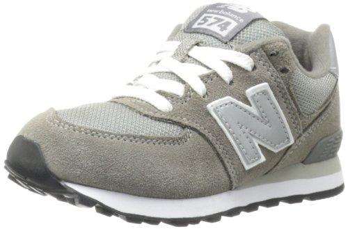 New Balance Kinder-Unisex NBKL574GSP Gymnastik Grey/Silver