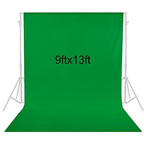 Neewer 9 x 13 Fuß / 2,8 x 4 Meter Fotografie Hintergrund Foto Video Studio Stoff Hintergrund Bildschirm (Grün)