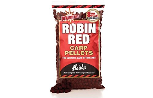 Dynamite Baits Robin Red Pre-Drill Carp Pellets Test