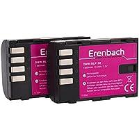 Juego de 2batería para la PANASONIC g GH5/DC de GH5–-- Eren BACHMANN marcas batería para DMW-BLF19(1860mAh)