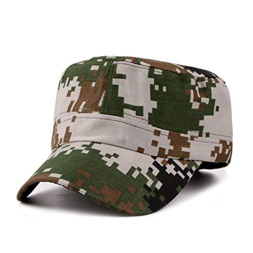 WYKDA Digital Camo Cap Casquette Camouflage Hüte für Männer Flache Kappe Blank Plain Camo Hüte Armee Outdoor Baseball Cap Hysteresenhut Hip Hop Männer (Digital Camo-hut)