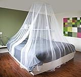 Großes Moskitonetz, Insektenschutz-Betthimmel. Bedeckt 12 m, ideal für zu Hause oder Urlaub.