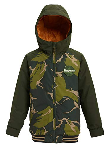 Burton Jungen Gameday Snowboard Jacke, Mountain Camo/Resin, XL