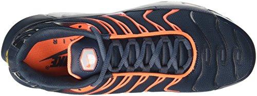 Nike Air Max Plus, Scarpe da Ginnastica Uomo Blu (Armory Navy/Pure Platinum/Tart/Wolf Grey)