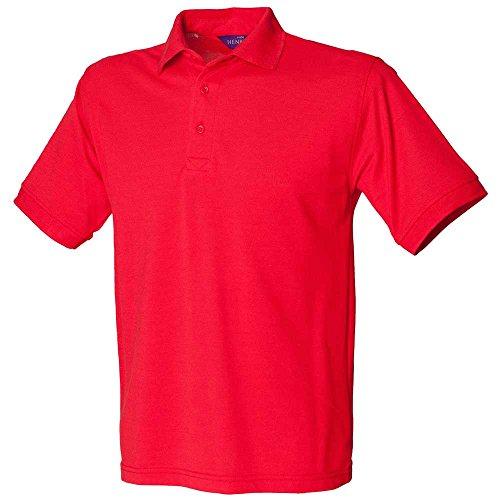 HenburyHerren Poloshirt Red