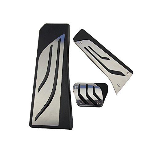 Preisvergleich Produktbild Edelstahl Pedal für X3 X4 F10 F11 523 528 535 F18 GT F07 F12 F13 F01 F02