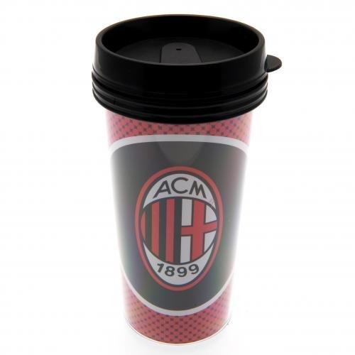 AC Milan Plastique à vis du Couvercle Café Thé Mug de voyage isotherme