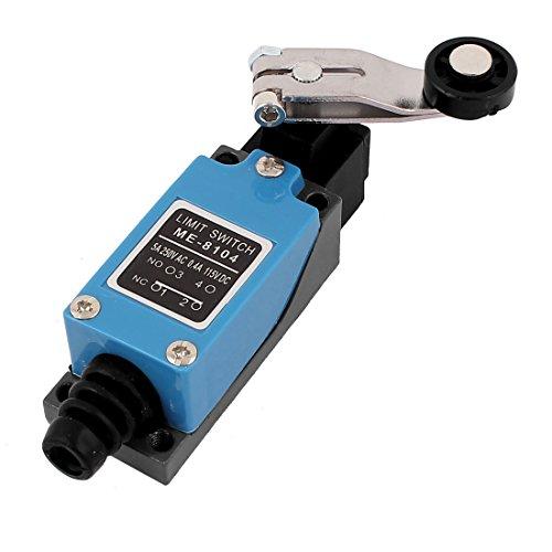 Preisvergleich Produktbild sourcingmap® ME-8104 verstellbare Rolle Lever Arm NC-NO Plasma Router Drehbank Endschalter de