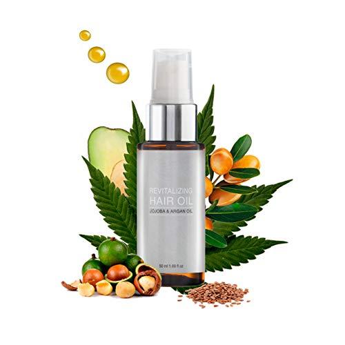 Aceite cabello: Aceite Argán +10 aceites naturales