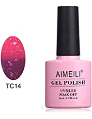 AIMEILI UV LED Thermo Gellack ablösbarer Nagellack Gel Polish - Violet Villain (TC14) 10ml