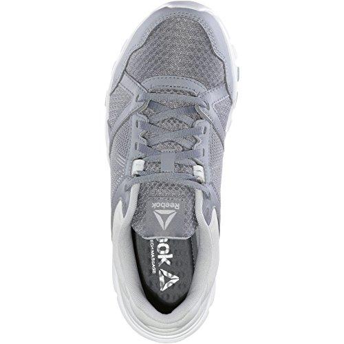 Reebok Damen Yourflex Trainette 10 MT Fitnessschuhe, Grigio, 38,5 EU cool shadow-white-solid teal