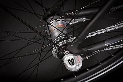 """28"""" Zoll Alu Herren URBAN Fahrrad Citybike Shimano 3 Gang Nexus schwarz 13,8kg"""