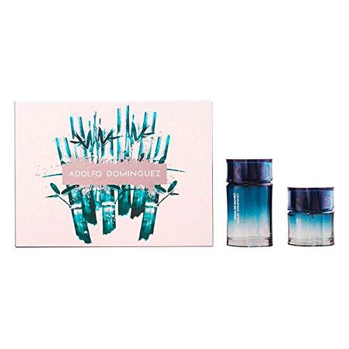Preisvergleich Produktbild Erleuchtung von Adolfo Dominguez–Agua De Bambu Man Lote 2PZ 100% Original und darüber hinaus Die Ihre Personalit Sie dieses Einzigartige Herren Parfüm Duft mit eine einzige und Personal. . . .