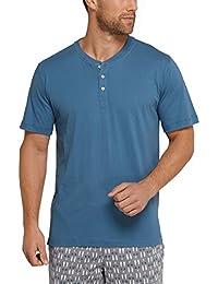 Schiesser Mix & Relax Shirt Kurzarm, Haut de Pyjama Homme