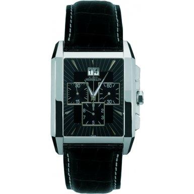Michel Herbelin 36672-14 Mens Kharga Black Chronograph Watch