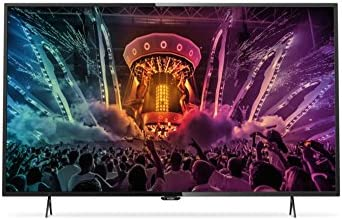 Philips 6000 series - Televisor (IEC, 4K Ultra HD, A+, 16:9, Zoom, Negro)