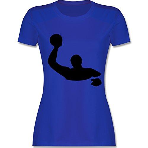 Wassersport - Wasserball - tailliertes Premium T-Shirt mit Rundhalsausschnitt für Damen Royalblau