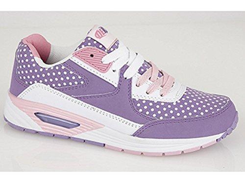 Dek ,  Mädchen Sneaker Low-Tops Lilac/Pink