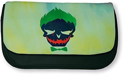 Trousse noire noire noire de maquillage ou d'école Joker Suicid Squad Color pop - Fabriqué en France - Chamalow shop B01KCXIO66 | Dans Un Style élégant  3254ac