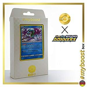 Suicune 59/214 Holo - #myboost X Sonne & Mond 8 Echo Des Donners - Box de 10 Cartas Pokémon Alemán