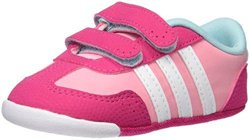 adidas Unisex Baby Dino Crib Sneakers, Rosa (Rossua / Ftwbla / Rosa), 17 EU