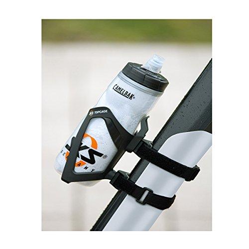 SKS Adapter Anywhere mit Topcage, Schwarz, 10 x 10 x 25 cm, 11231
