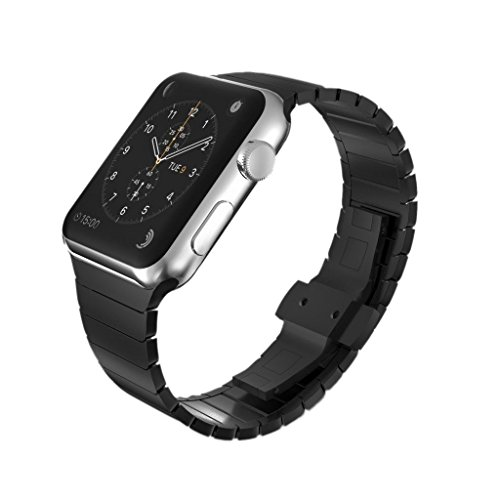 spritechtm-elegance-watchband-replacementstainless-steel-butterfly-closure-bracelet-strap-iwatch-acc