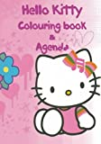 Hello Kitty Agenda & Colouring Book: A lovely colouring book and agenda for you to enjoy. This 124 page book consists of 58 images to colour, A - Z ... fill out daily. Great for any school child.