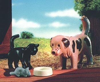 Playmobil 4563 - Perro / Gato / ratón