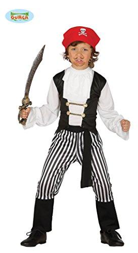 Striped Pirate Costume bambino 10-12 anni
