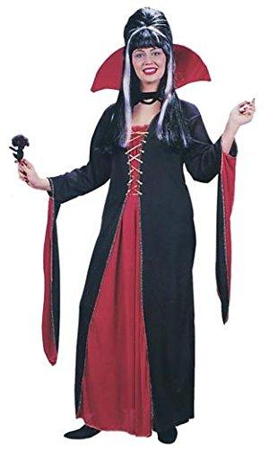 Elvira The Vampiress Adult Costume (Xl Elvira Kostüm)
