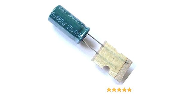 5x Elko Kondensator 680uf 25v Radial Low Esr Low Elektronik
