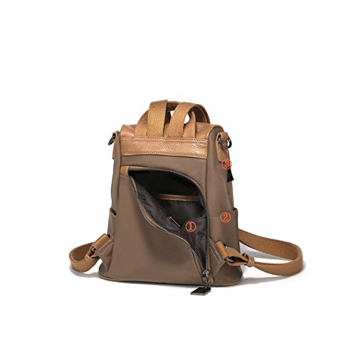 Mini Soft Leather Umh? Ngetasche, Wild Casual Female Rucksack-a A