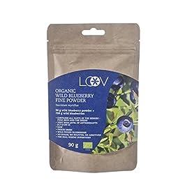 LOOV polvere biologica di mirtillo rosso americano selvatico, 100% bacche intere di mirtillo rosso americano, mirtilli…