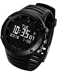 2ef48c5214a9 F Fityle Reloj de Pulsera Deportivo Monitores de Actividad para Deportes al  Aire Libre