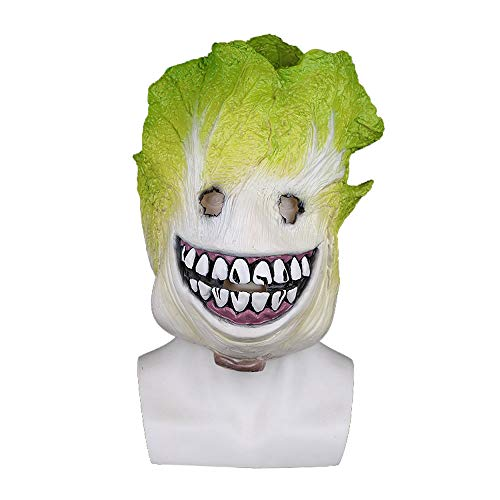 YaPin Weihnachten Chinakohl Maskenhaube lustige Obst und Gemüse Perücken Spaß Party Live Gesang Leistung Latex Kopfbedeckungen
