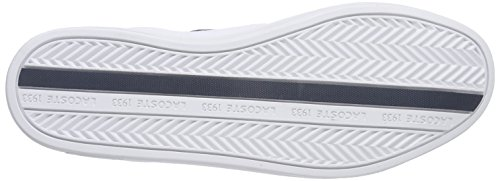 Lacoste EUROPA LCR3 SPM Herren Sneakers Weiß (WHT/DK BLU X96)