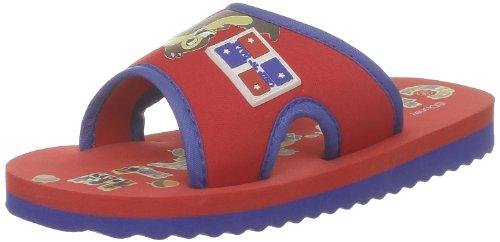 De Fonseca, Bandacip, Pantofole Unisex - bambino Rosso