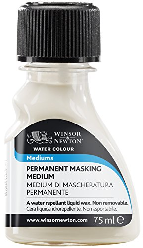 Winsor & Newton - Medium maskier Permanente, acquerelli, 75 ml