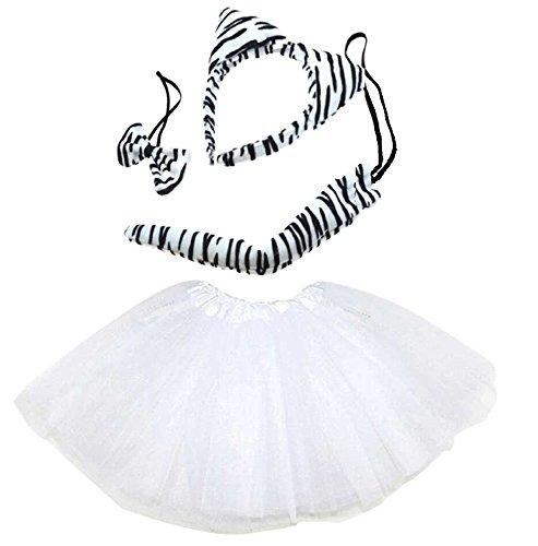 Lizzy® Damen Kostüm Zebra Tutu Costume