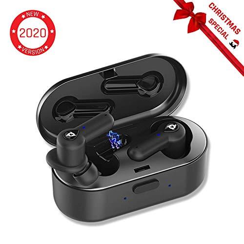 KLIM Pods - Bluetooth Kopfhörer in Ear + Hohe Klangqualität + Hervorragende Isolierung + Leichte und schnelle Kopplung + Lang anhaltende Batterie 30 h + TWS-Sport Kopfhörer + Neuheiten 2020