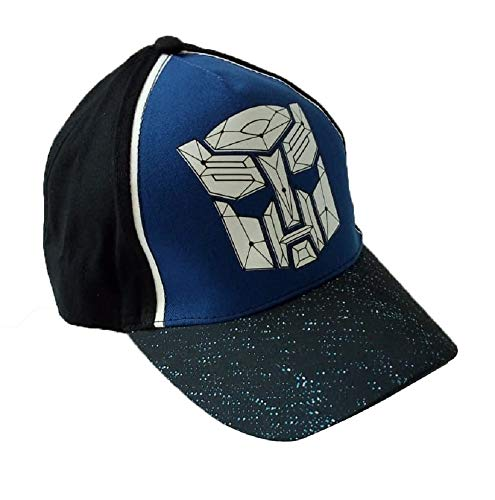 Transformers Caps Rot/Schwarz in Größe 52/54 für Jungs (Schwarz, 54)