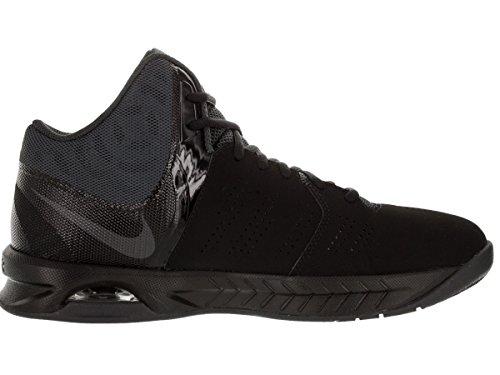 Nike Air Visi Pro Vi, espadrilles de basket-ball homme Black/Anthracite