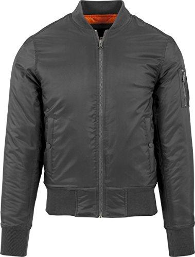 Urban Classic Men's Basic Bomber Jacket