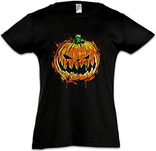 Pumpkin Head Mädchen Kinder Kids T-Shirt