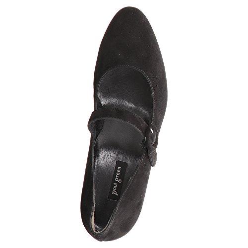 Paul Green 3552-012, Scarpe col tacco donna Nero