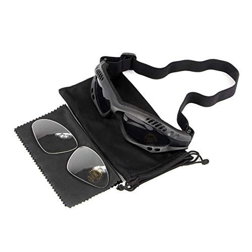 WOSOSYEYO Motorrad Jagd Wüste Militär Sonnenbrille Winddicht Tactical Desert Storm Brille Outdoor Motorrad Sonnenbrille