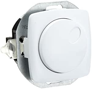 unitec 41789l variateur rotatif pour ampoules incandescence gradateur 20 niveaux 400 w import. Black Bedroom Furniture Sets. Home Design Ideas