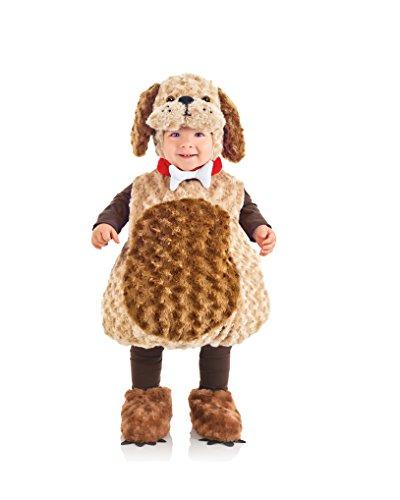 Süßes flauschiges Hunde Welpen Kostüm ~ Karneval ~ Halloween ~ Jungen Gr. 80-86 = Größe Medium (Halloween-kostüme Kleinen Creative Jungen)