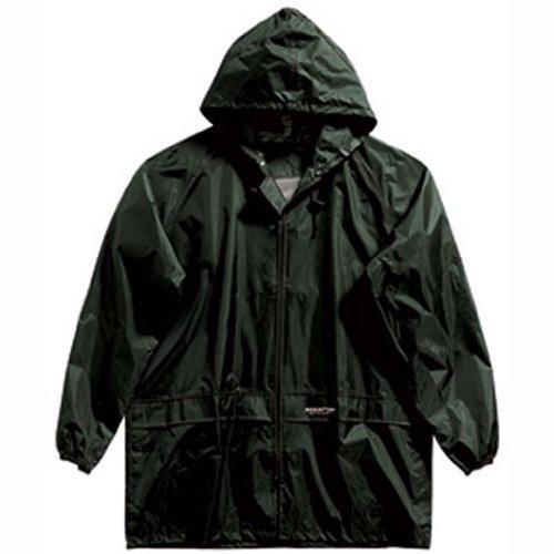 Regatta Stormbreak - Chaqueta para hombre, tamaño M, color oliva oscuro